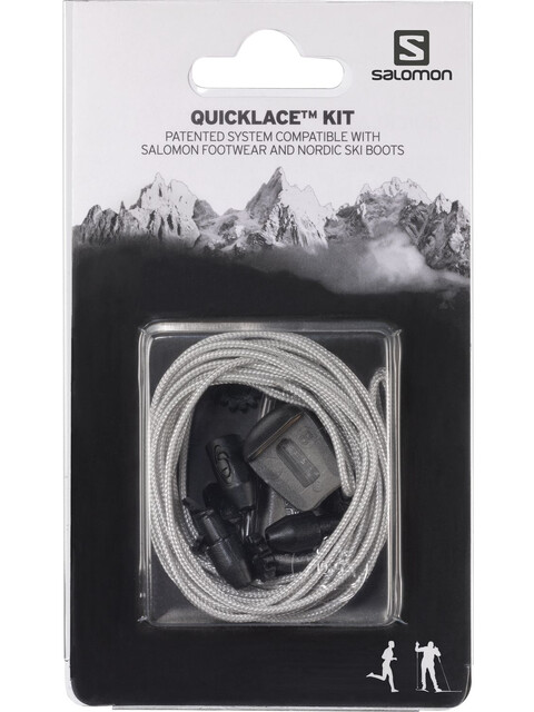 Salomon Quicklace Kit grijs